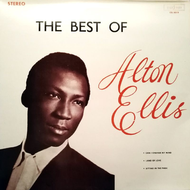(LP) ALTON ELLIS - THE BEST OF ALTON ELLIS