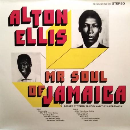 (LP) ALTON ELLIS - MR SOUL OF JAMAICA