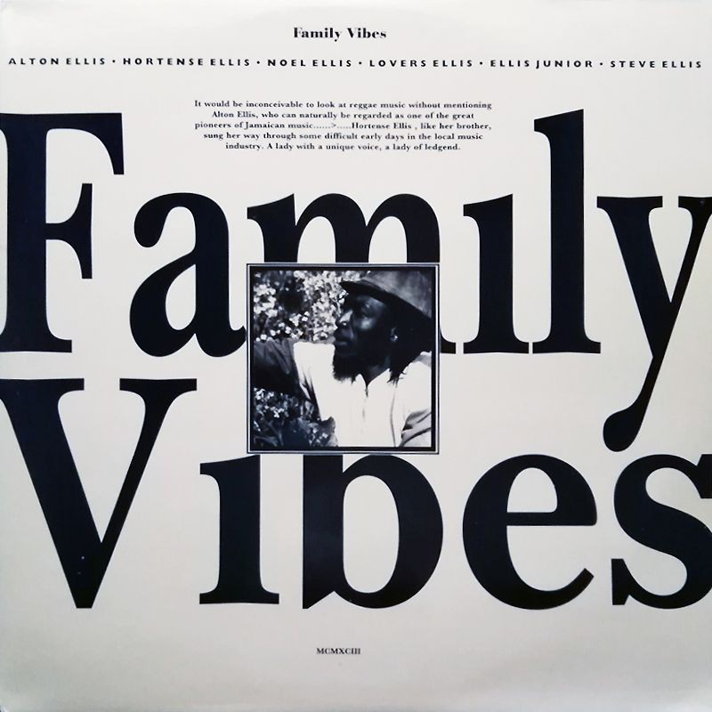(LP) VARIOUS ARTISTS - FAMILY VIBES