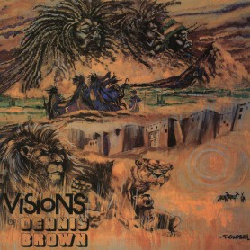 (LP) DENNIS BROWN - VISIONS OF DENNIS BROWN