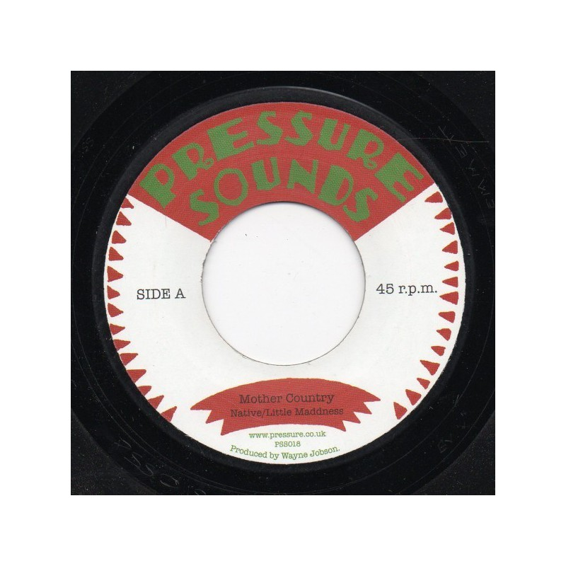 "(7"") NATIVE / LITTLE MADDNESS - MOTHER COUNTRY / MOTHER VERSION"