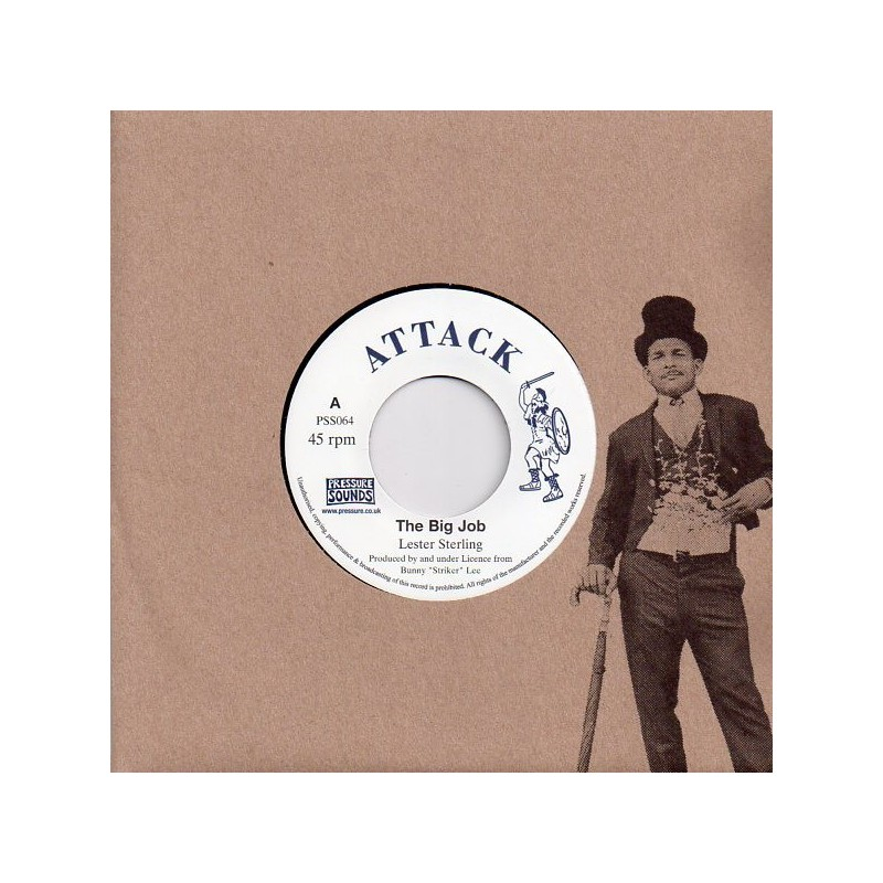 "(7"") LESTER STERLING - THE BIG JOB / VERSION"