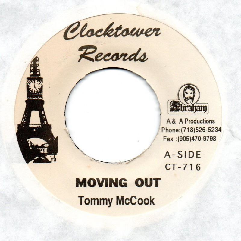 "(7"") TOMMY McCOOK - MOVING OUT / DANCE WITH ME"