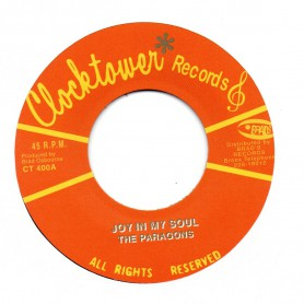"(7"") THE PARAGONS - JOY IN MY SOUL / CLOCKTOWER ALL STARS - JOYFUL SKANK"