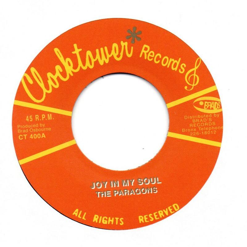 "(7"") THE PARAGONS - JOY IN MY SOUL / CLOCKTOWER ALL STARS - JOYFUL SKANK"