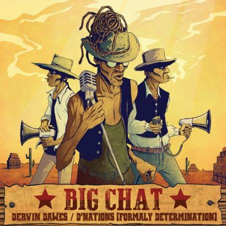 """(10"""") D'NATIONS - BIG CHAT / SKARRA MUCCI - LOCK IT DOWN"""