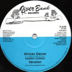 "(10"") DAWEH CONGO - AFRICAN DANCE / HENRY TENUE & MAFIA & FLUXY - VERSION"
