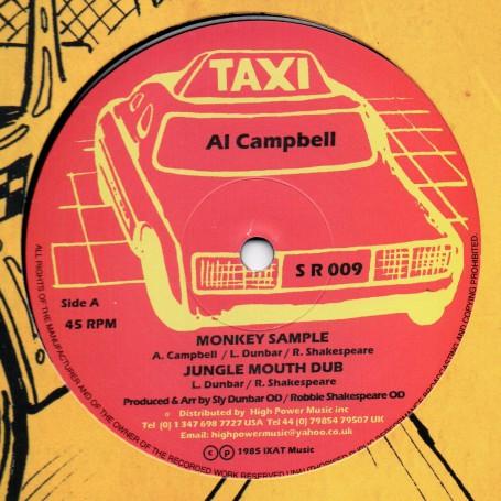 "(12"") AL CAMPBELL - MONKEY SAMPLE / LINVAL THOMPSON - HALLA THEM A ALLAH"