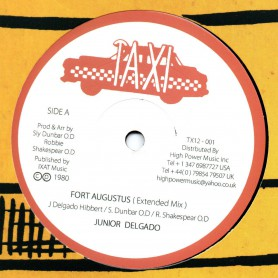 "(12"") JUNIOR DELGADO - FORT AUGUSTUS (Extented) / SLY & ROBBIE - DUB"