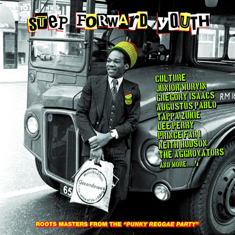 (LP) VARIOUS ARTISTS - STEP FORWAD YOUTH