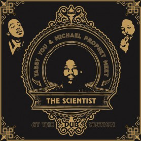 (LP) YABBY YOU & MICHAEL PROPHET MEET THE SCIENTIST AT THE DUB STATION