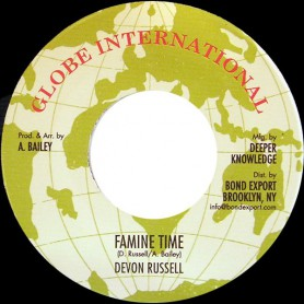 "(7"") DEVON RUSSELL - FAMINE TIME / VERSION"