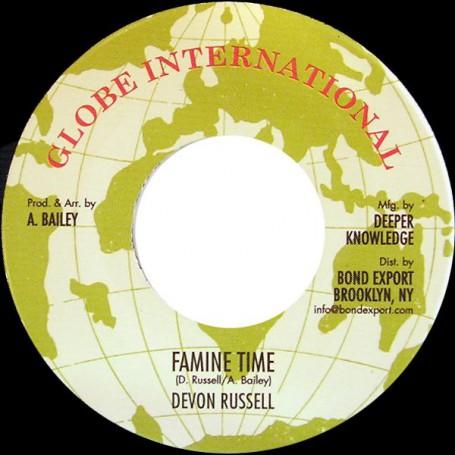 "(7"") DEVON RUSSELL - FAMINE TIME / VERSION"
