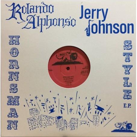 (LP) ROLAND ALPHANSO & JERRY JOHNSON - HORNSMAN STYLE EP