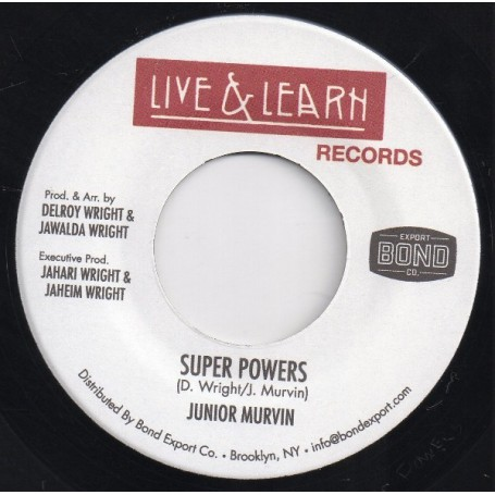 "(7"") JUNIOR MURVIN - SUPER POWERS / VERSION"