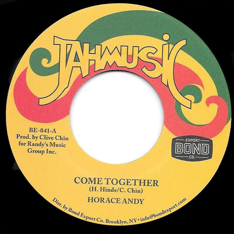 """(7"""") HORACE ANDY - COME TOGETHER / IMPACT ALL STARS - COME TOGETHER VERSION"""