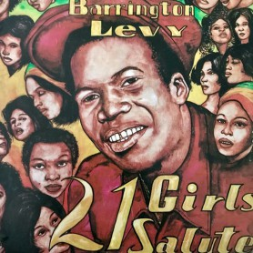 (LP) BARRINGTON LEVY - 21 GIRLS SALUTE