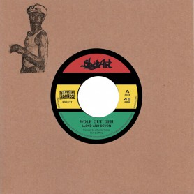 "(7"") LLOYD & DEVON - WOLF OUT DEH / SHEPHERD ROAD"