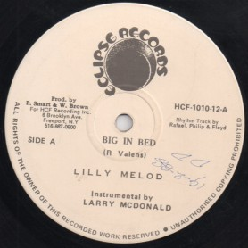"""(12"""") LILLY MELODY - BIG IN BED / CEASE FIRE SELECTOR"""