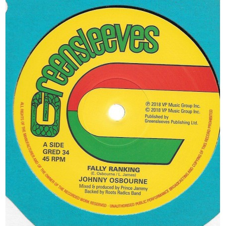 "(12"") JOHNNY OSBOURNE - FALLY RANKING / TRENCH TOWN SCHOOL"