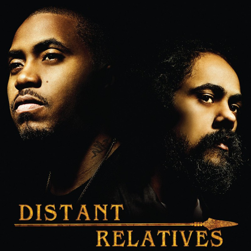 (2xLP) NAS & DAMIAN MARLEY - DISTANT RELATIVES