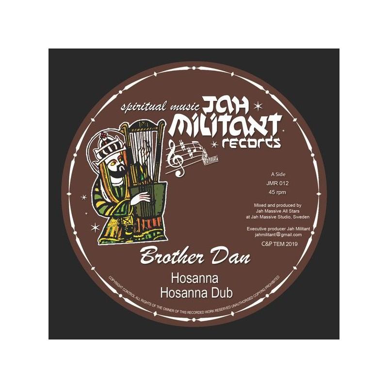 "(12"") BROTHER DAN & JAH MASSIVE ALL STARS - HOSANNA"