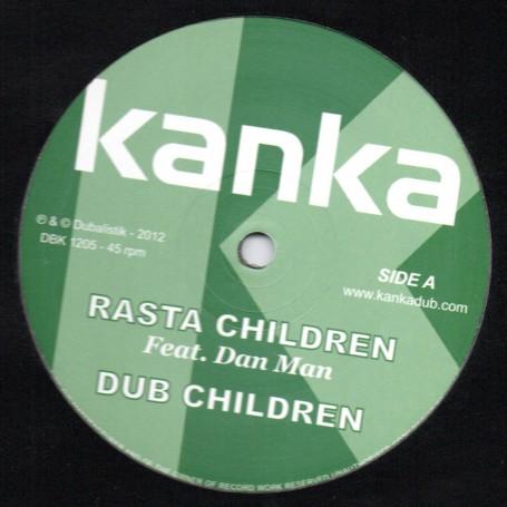 """(12"""") KANKA FEAT DAN MAN - RASTA CHILDREN / ZION I - WE AH WARRIOR"""