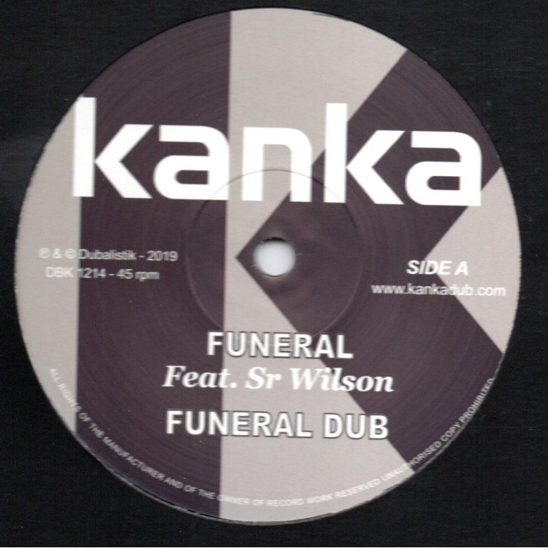 "(12"") KANKA FEAT SIR WILSON - FUNERAL / PURPLE DUB"