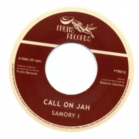 "(7"") SAMORY I - CALL ON JAH / ROBERTO SANCHEZ & NAJAVIBES - CALL ON DUB"