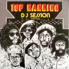 (LP) VARIOUS ARTIST - TOP RANKING DJ SESSION VOL 1
