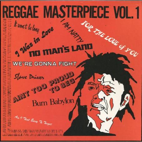 (LP) VARIOUS ARTIST - REGGAE MASTERPIECE VOL.1
