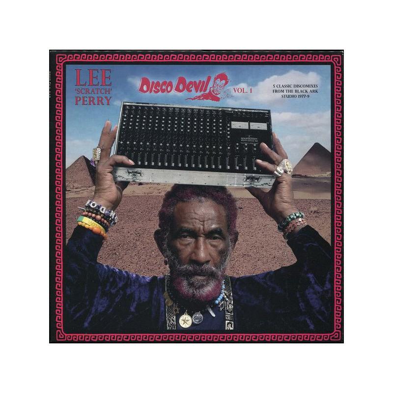 (LP) LEE SCRATCH PERRY - DISCO DEVIL VOL.1 : 5 CLASSIC DISCOMIXES FROM THE BLACK ARK STUDIO 1977-79