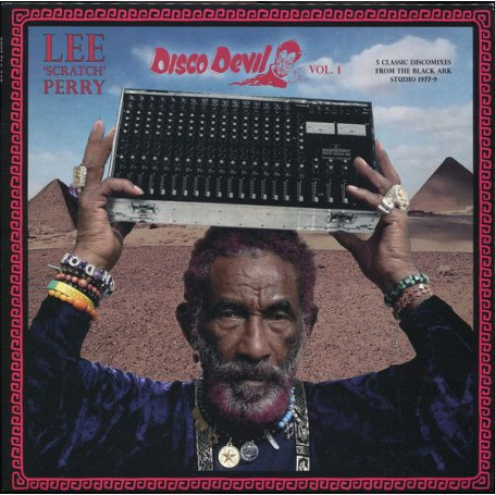 (LP) LEE SCRATCH PERRY - DISCO DEVIL VOL.1 : 5 CLASSIC DISCOMIXES FROM THE BLACK ARK STUDIO 1977-79