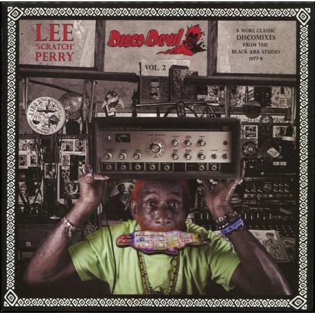 (LP) LEE SCRATCH PERRY - DISCO DEVIL VOL.2 : 6 MORE CLASSIC DISCOMIXES FROM THE BLACK ARK STUDIO 1977-78