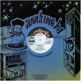 "(12"") DENNIS BROWN - SLAVE DRIVER / RANKING JOE - SLAVE DRIVER CATCH A FIRE"