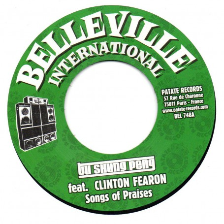 "(7"") TU SHUNG PENG FEAT CLINTON FEARON - SONGS OF PRAISES / JOSEPH COTTON - FILTHY ACT"