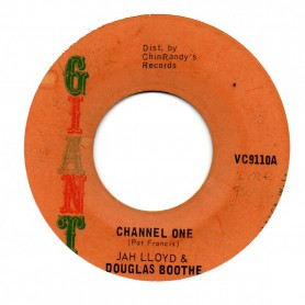 "(7"") JAH LLOYD & DOUGLAS BOOTHE - CHANNEL ONE / SOUL SYNDICATE - CHANNEL TWO"