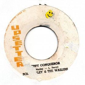 "(7"") BOB MARLEY & THE WAILERS - DUPPY CONQUEROR / THE UPSETTERS - ZIG ZAG"