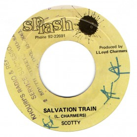 "(7"") SCOTTY - SALVATION TRAIN / THE COSMIC FORCES - KINKY"