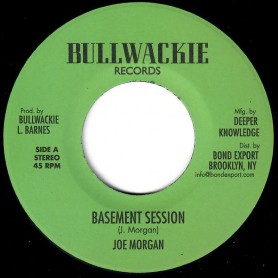 "(7"") JOE MORGAN - BASEMENT SESSION / RECKLESS BREED - BASEMENT SCRUB"
