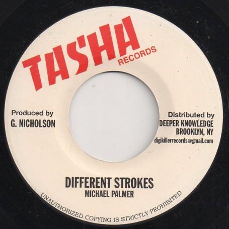 "(7"") MICHAEL PALMER - DIFFERENT STROKES / DUB"