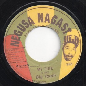 "(7"") BIG YOUTH - MY TIME / NATTY UNIVERSAL DREAD"