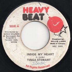 "(7"") TINGA STEWART - INSIDE MY HEART / VERSION"