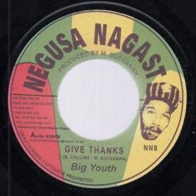 "(7"") BIG YOUTH - GIVE THANKS / I PRAY THEE (SATTA)"