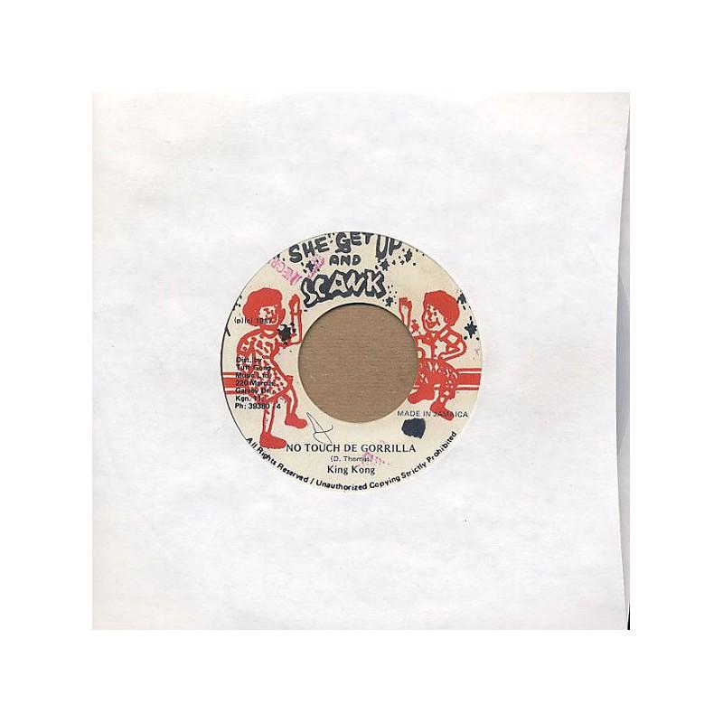 "(7"") KING KONG - NO TOUCH DE GORRILLA / HIT SQUAD CONNECTION"