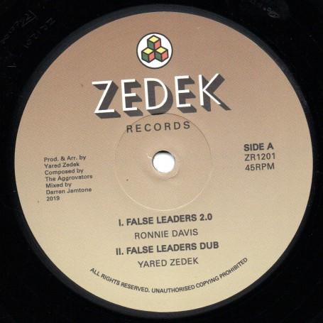 "(12"") RONNIE DAVIS - FALSE LEADERS 2.0 / MAXIM BUTLER - TRAVELING"