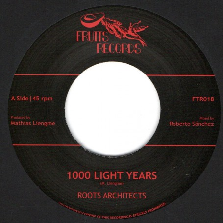 "(7"") ROOTS ARCHITECTS - 1000 LIGHT YEARS / 1000 DUB YEARS"