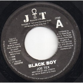 "(7"") JOE TEX - BLACK BOY / INSTRUMENTAL"