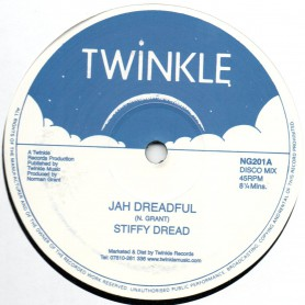 "(12"") STIFFY DREAD - JAH DREADFUL / TWINKLE BROTHERS - DREADFUL DUB"