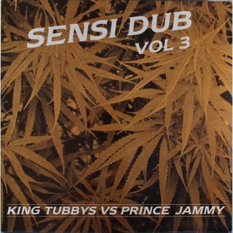 (LP) KING TUBBY VS PRINCE JAMMY - SENSI DUB VOL.3